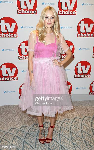 Fearne Cotton arrives for the TV Choice Awards at The Dorchester on September 5 2016 in London England