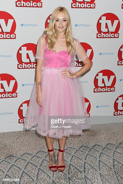 Fearne Cotton arrives for the TVChoice Awards at The Dorchester on September 5 2016 in London England