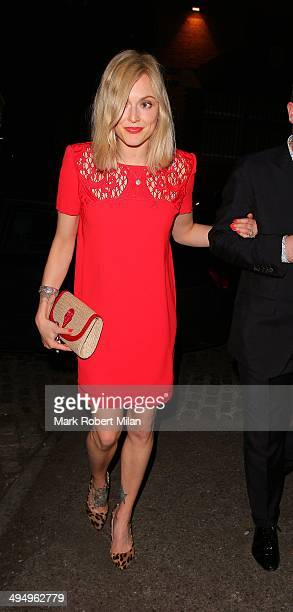Fearne Cotton at Gilgamesh restaurant and club to celebrate Denise van Outens birthday on May 31 2014 in London England