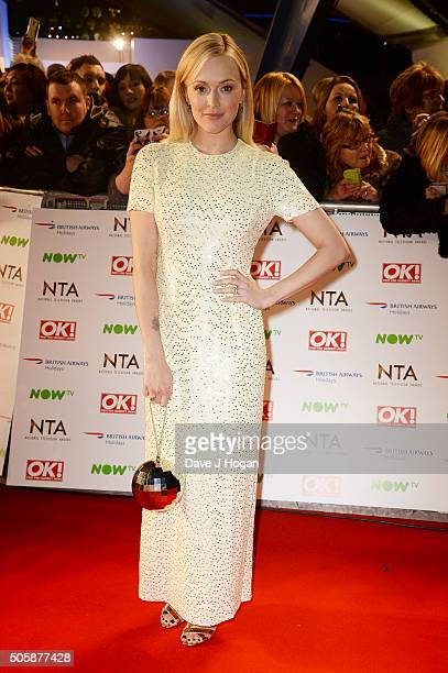 Fearne Cotton attends the 21st National Television Awards at The O2 Arena on January 20 2016 in London England