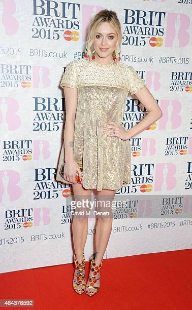 Fearne Cotton attends the BRIT Awards 2015 at The O2 Arena on February 25 2015 in London England