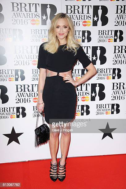 Fearne Cotton attends the BRIT Awards 2016 at The O2 Arena on February 24 2016 in London England