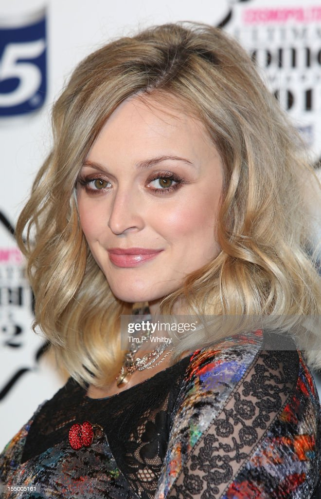 Fearne Cotton attends the Cosmopolitan Ultimate Woman of the Year awards at Victoria & Albert Museum on October 30, 2012 in London, England.