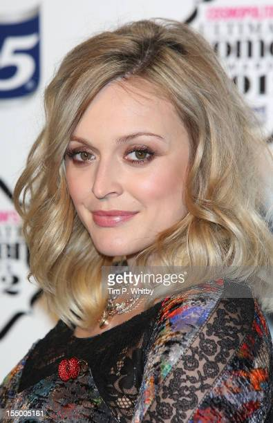 Fearne Cotton attends the Cosmopolitan Ultimate Woman of the Year awards at Victoria Albert Museum on October 30 2012 in London England
