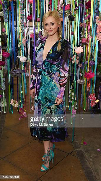 Fearne Cotton attends the Matthew Williamson LIKEtoKNOWit Summer Party to celebrate the high summer collection 'Mirage' at Clifton Nurseries on June...