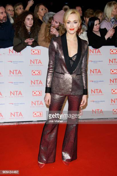 Fearne Cotton attends the National Television Awards 2018 at The O2 Arena on January 23 2018 in London England