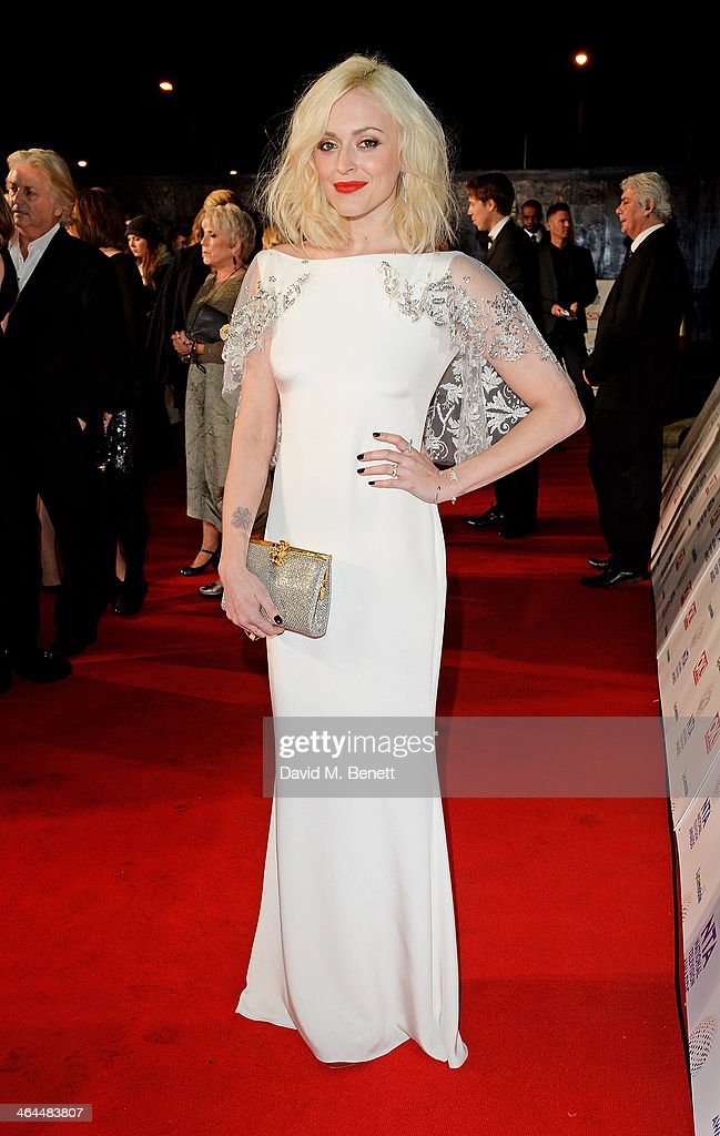 Fearne Cotton attends the National Television Awards at the 02 Arena on January 22, 2014 in London, England.
