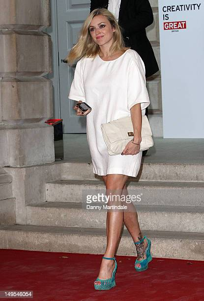 Fearne Cotton attends the UK's Creative Industries Reception at Royal Academy of Arts on July 30 2012 in London England