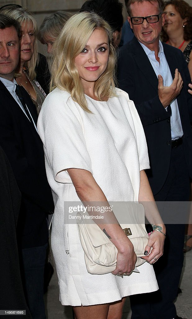 Fearne Cotton attends the UK's Creative Industries Reception at Royal Academy of Arts on July 30, 2012 in London, England.