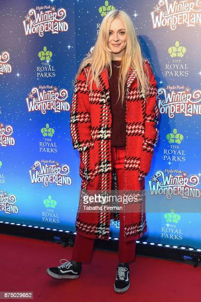 Fearne Cotton attends the Winter Wonderland VIP launch night at Hyde Park on November 16 2017 in London England