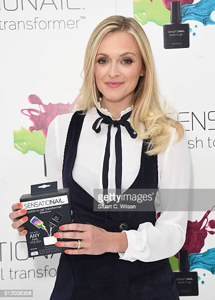 Fearne Cotton Becomes A Spokesperson For The New Sensational Polish To Gel Transformer on February 24 2016 in London England