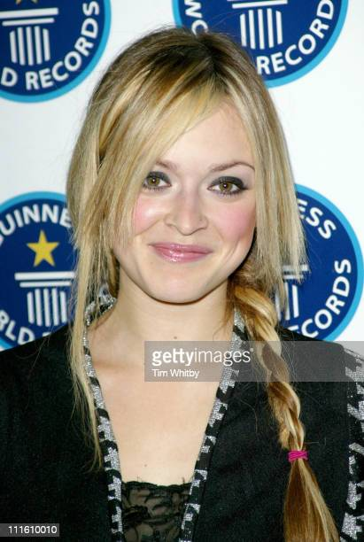 Fearne Cotton during 50th Anniversary Party for the Guinness Book of World Records at The Royal Opera House in London Great Britain