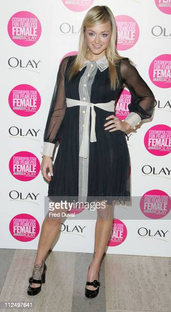 Fearne Cotton during Cosmopolitan Fun Fearless Female Awards with Olay Red Carpet at Bloomsbury Ballroom in London Great Britain