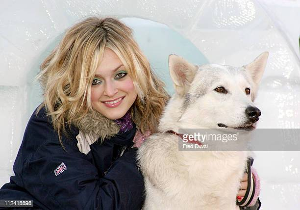 Fearne Cotton during Fearne Cotton Launches New CBBC Program 'Serious Arctic' Photocall at Trafalgar Square in London United Kingdom