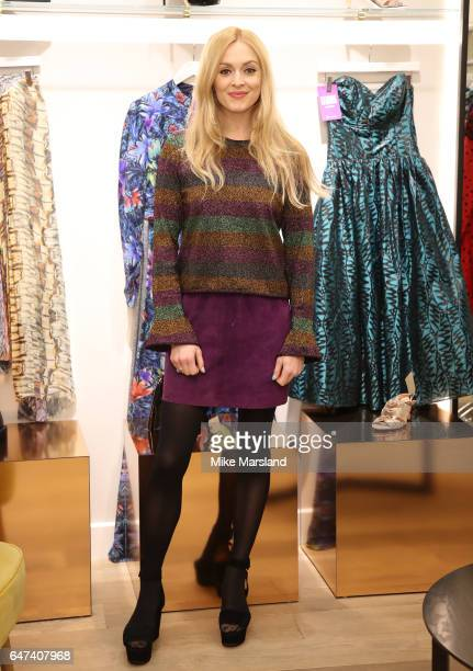 Fearne Cotton holds her charity popup shop with The Huffington Post UK on March 3 2017 in London United Kingdom