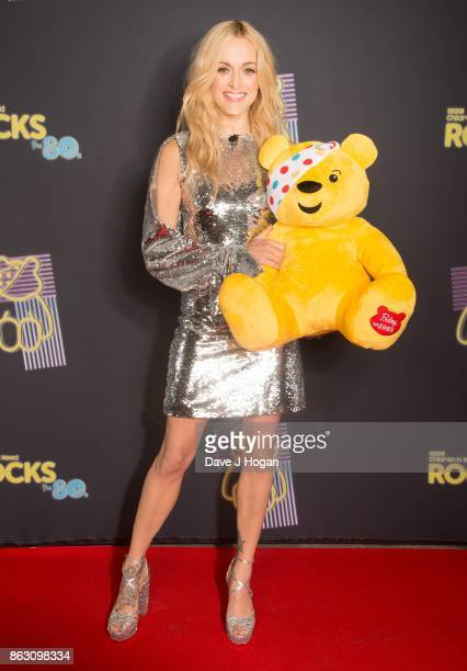 Fearne Cotton is pictured at BBC Children in Need Rocks the 80s at SSE Arena on October 19, 2017 in London, England.