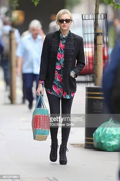 Fearne Cotton is seen on July 18, 2012 in London, United Kingdom.