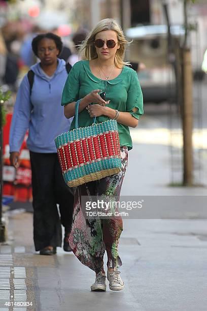 Fearne Cotton is seen on July 30 2012 in London United Kingdom