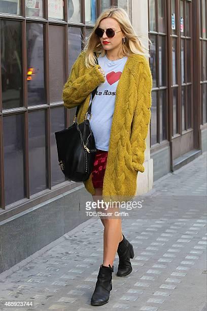 Fearne Cotton is seen on September 19 2012 in London United Kingdom