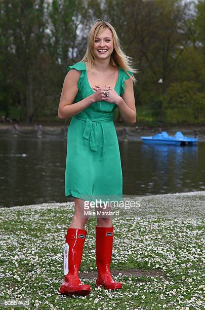 Fearne Cotton launches a search to find green teenagers across the UK to take part in NPower's Climate Cops programme in Regents Park on April 28...