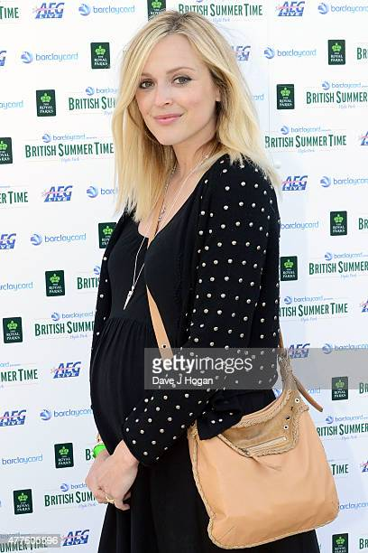 Fearne Cotton performs as part of the British Summer Time 2015 gigs at Hyde Park on June 18 2015 in London England