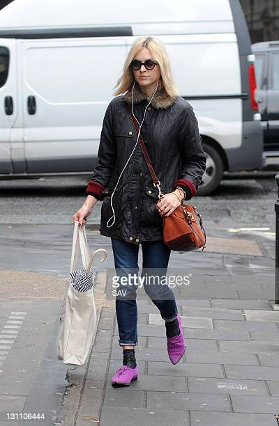 Fearne Cotton pictured at the Radio 1 studios on November 1, 2011 in London, England.