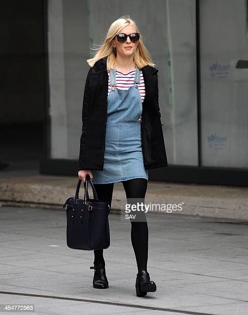 Fearne Cotton pictured leaving Radio 1 on December 10 2013 in London England