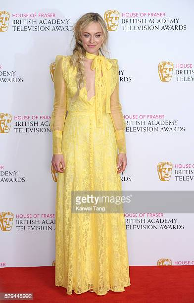 Fearne Cotton poses in the winners room at the House Of Fraser British Academy Television Awards 2016 at the Royal Festival Hall on May 8 2016 in...