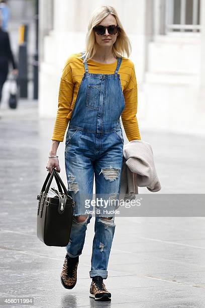 Fearne Cotton seen arriving at the BBC Radio 1 Studios Portland Place on September 24 2014 in London England Photo by Alex Huckle/GC Images