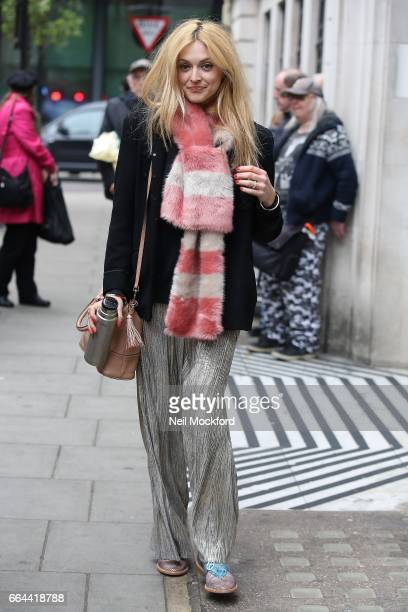 Fearne Cotton seen at BBC Radio 2 on April 4 2017 in London England
