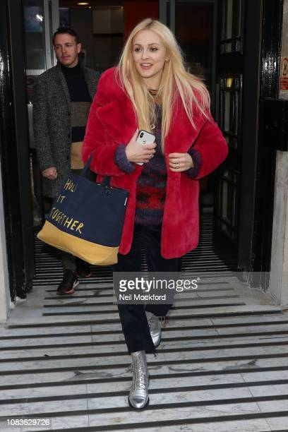 Fearne Cotton seen at BBC Radio 2 on December 17 2018 in London England