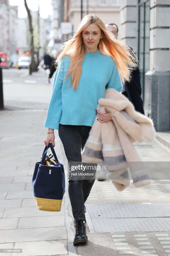 GBR: London Celebrity Sightings -  March 18, 2019