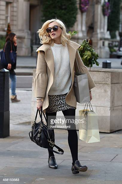 Fearne Cotton seen at BBC Radio One on December 20 2013 in London England