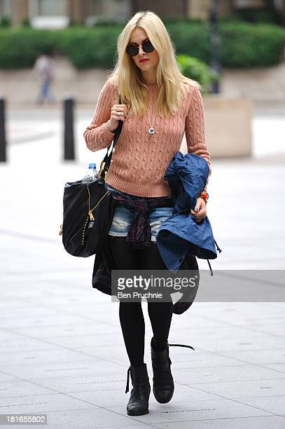 Fearne Cotton sighted at BBC Radio 1 Studios on September 23 2013 in London England