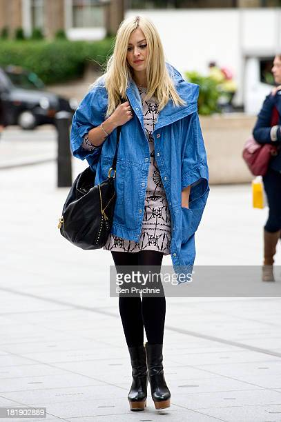 Fearne Cotton sighted at BBC Radio Studios on September 26 2013 in London England