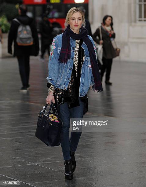Fearne Cotton sighting at the BBC on January 28 2015 in London England