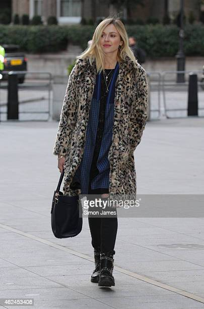 Fearne Cotton sighting at the BBC on January 29 2015 in London England