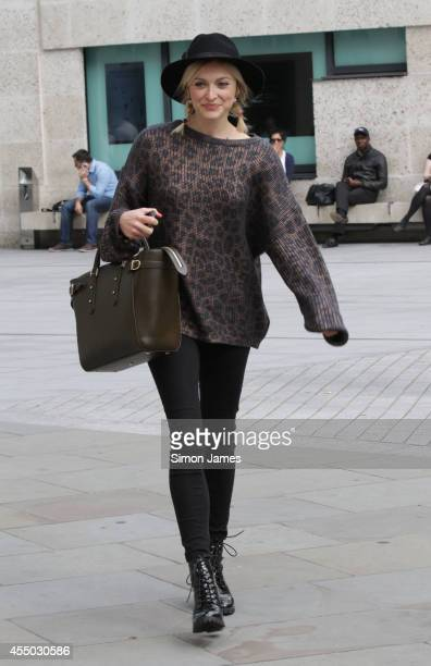 Fearne Cotton sighting at the BBC studios on September 9 2014 in London England