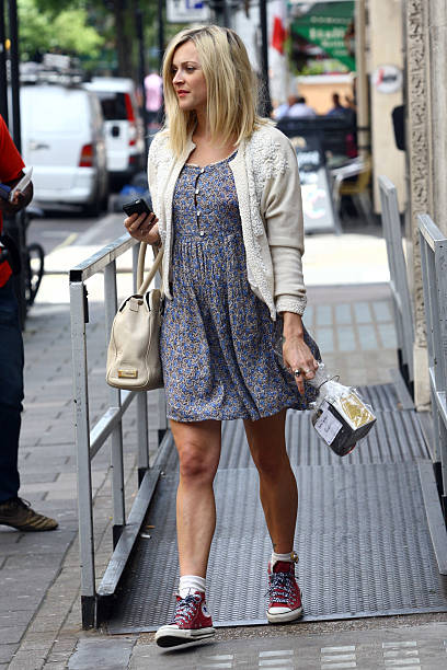c600b26e1ce361 Fearne Cotton Sighting In London - August 3