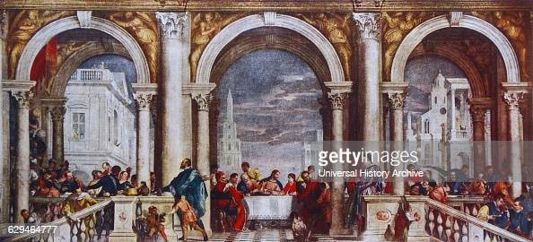 Feast in the House of Levi by Paolo Veronese . News Photo ...