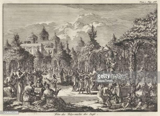 Feast of Tabernacles, Jan Luyken, Pieter Mortier, 1705.