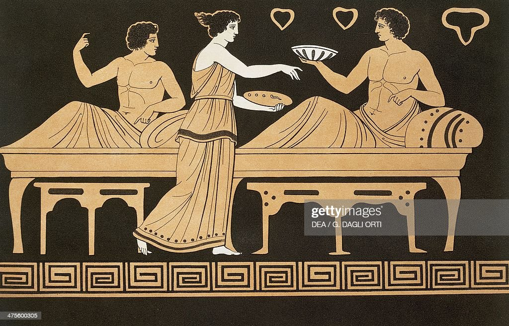 Feast with Bacchus... : News Photo