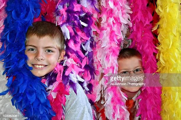 Feather Boas boys