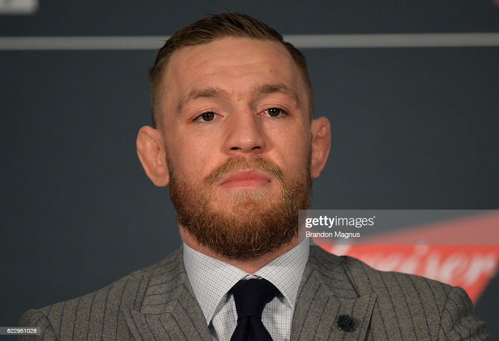 UFC 205: Alvarez v McGregor : News Photo