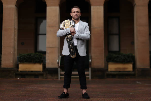 AUS: Alex Volkanovski Media Opportunity