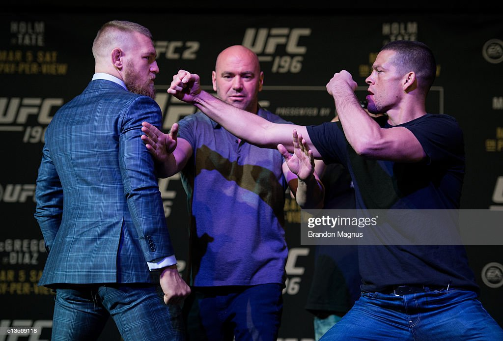 UFC 196 - Press Conference