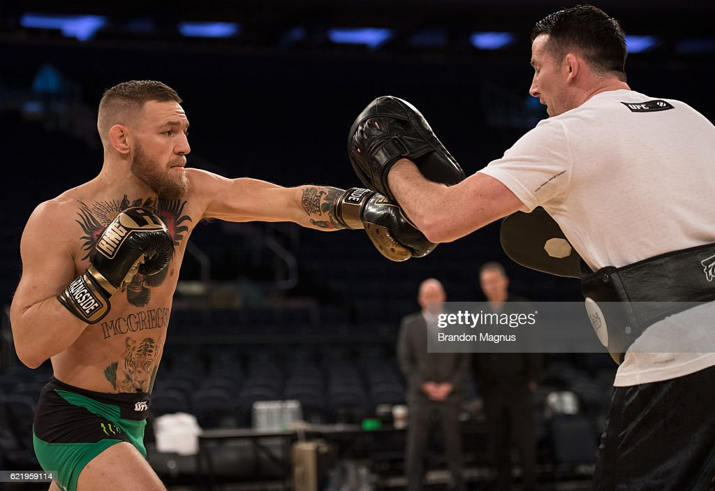 UFC 205 Open Workouts : News Photo