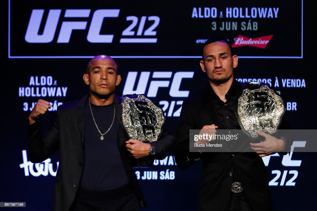 UFC 212 Press Conference : News Photo