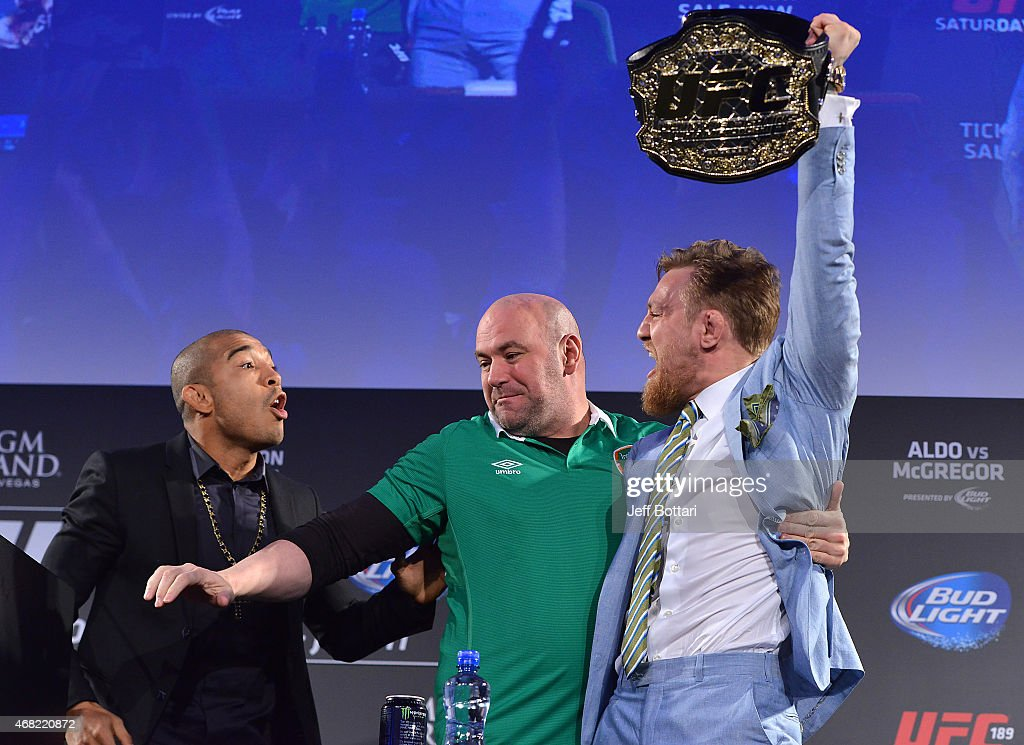 UFC 189 World Championship Fan Event - Dublin : News Photo