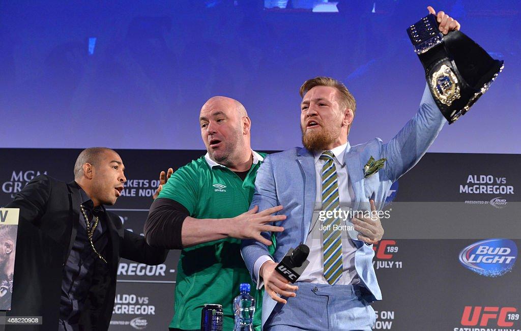UFC 189 World Championship Fan Event - Dublin